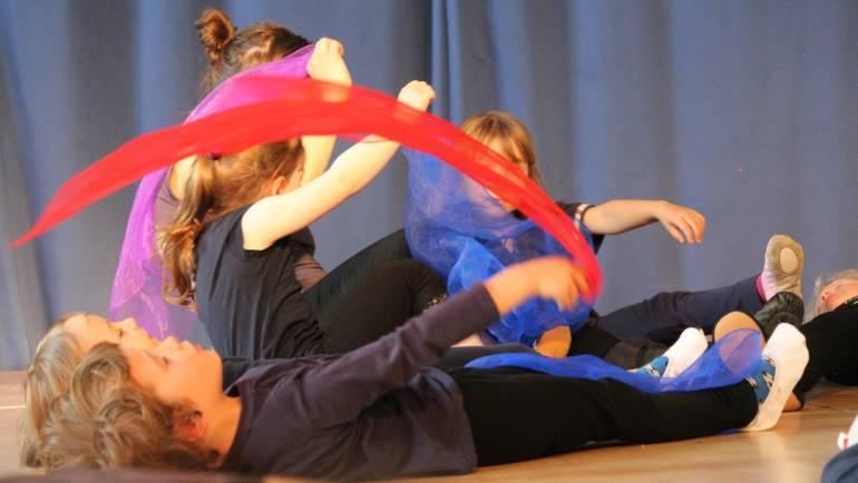 Tanzen in AHA-Projekthaus